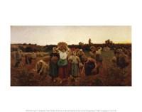 The Return of the Gleaners, 1859 Fine-Art Print