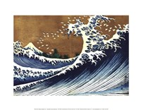 Big Wave (from 100 views of Mt. Fuji) Fine-Art Print