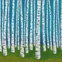 Birch Grove Fine-Art Print