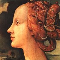 Portrait of Simonetta Vespucci (detail) Fine-Art Print