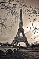 Curves of Eiffel Fine-Art Print