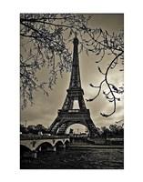Curves of Eiffel Fine-Art Print