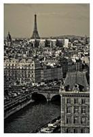 Paris Rooftops Fine-Art Print