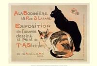 A la Bodiniere/Exposition Steinlen Fine-Art Print