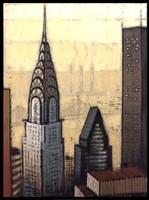 Golden Chrysler Fine-Art Print