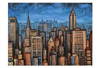 Twilight Skyline Fine-Art Print
