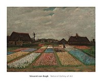 Flower Beds in Holland, c. 1883 Fine-Art Print