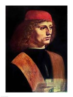 Portrait of a Musician, c.1485 Fine-Art Print
