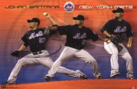 Mets - J Santana 11 Wall Poster