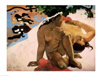 Aha oe Feii  (Are You Jealous), 1892 Fine-Art Print