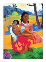 Nafea Faaipoipo Fine-Art Print