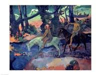 The Escape, The Ford, 1901 Fine-Art Print