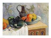 Teiera, Brocca e Frutta, 1899 Fine-Art Print