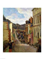 A Suburban Street, 1884 Fine-Art Print