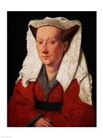 Portrait of Margaret van Eyck, 1439 Fine-Art Print