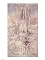 St. Barbara, 1437 Fine-Art Print