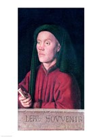 Portrait of a Young Man, 1432 Fine-Art Print