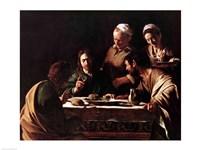 Supper at Emmaus, 1606 Fine-Art Print