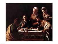 Supper at Emmaus, 1606 Fine-Art Print