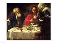 The Supper at Emmaus, c.1614-21 Fine-Art Print