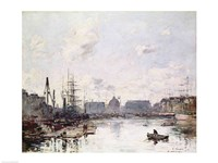 The Port of Trade, Le Havre, 1892 Fine-Art Print