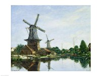 Dutch Windmills, 1884 Fine-Art Print