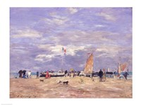 The Jetty at Deauville, 186 Fine-Art Print
