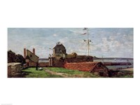 The Francois Ier Tower at le Havre, 1852 ( Fine-Art Print