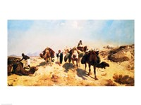 Crossing the Desert Fine-Art Print
