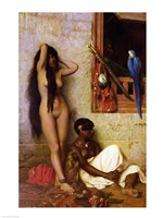 The Slave for Sale, 1873 Fine-Art Print