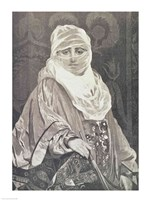 'La Favorita'- Woman with a Veil Fine-Art Print
