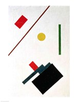 Suprematist Composition, 1915 (detail 2) Fine-Art Print