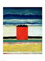 Red House, 1932 Fine-Art Print