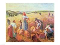 The Gleaners, 1889 Fine-Art Print