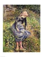 Girl with a Stick, 1881 Fine-Art Print