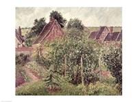 Landscape with Cottage Roofs, 1899 Fine-Art Print