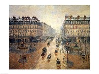 Avenue de L'Opera, Paris, 1898 Fine-Art Print