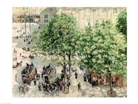 Place du Theatre-Francais, Spring, 1898 Fine-Art Print