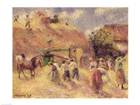 The Harvest, 1883 Fine-Art Print