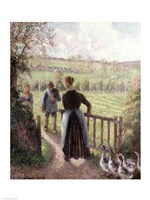 The Woman with the Geese, 1895 Fine-Art Print