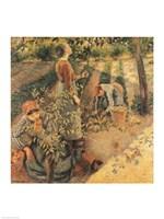 The Apple Pickers, 1886 Fine-Art Print