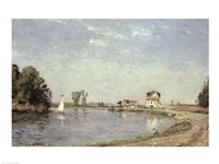 At the River's Edge, 1871 Fine-Art Print