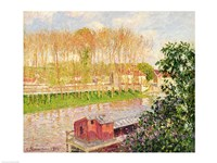 Sunset at Moret-sur-Loing, 1901 Fine-Art Print