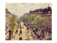 Boulevard Montmartre, Spring, 1897 Fine-Art Print