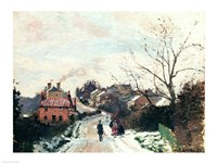 Fox hill, Upper Norwood, 1870 Fine-Art Print