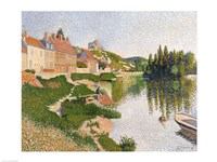 The River Bank, Petit-Andely, 1886 Fine-Art Print