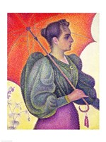 Woman with a Parasol, 1893 Fine-Art Print