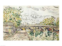 The Pont Neuf, Paris, 1927 Fine-Art Print