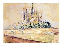 Notre Dame, 1885 Fine-Art Print