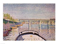 The Bridge at Asnieres, 1888 Fine-Art Print